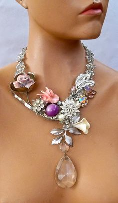 idea for grandma's old costume jewelry
