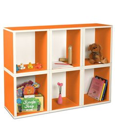 Take a look at this Way Basics Orange Modular Cube Plus - Set of Six by Way Basics on #zulily today!