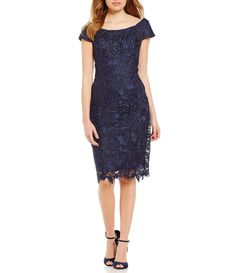 Shop for JS Collections Off-The-Shoulder Lace Sheath Dress at Dillards.com. Visit Dillards.com to find clothing, accessories, shoes, cosmetics & more. The Style of Your Life.