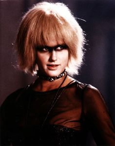 Blade Runner (1982): Daryl Hannah plays one of several replicants, genetically engineered organic robots almost indistinguishable from real humans - Pris