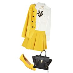 """Let's Do Yellow"" by immariaaan on Polyvore"