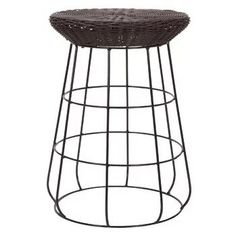 Shop for Household Essentials Resin Wicker Low Stool, Brown. Get free delivery On EVERYTHING* Overstock - Your Online Garden & Patio Shop! White Wicker Furniture, Outdoor Wicker Patio Furniture, Wicker Dresser, Wicker Headboard, Wicker Mirror, Wicker Shelf, Wicker Bar Stools, Wicker Table, Wicker Sofa