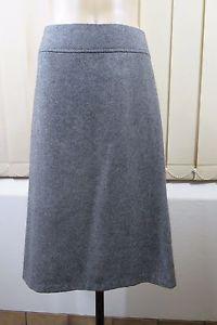 Size M 12 Sportsgirl Ladies Skirt Grey Boho Work Office Corporate Style | eBay
