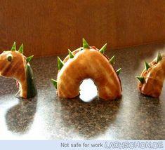 Bagel Nessie-Monster