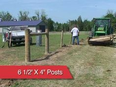 Red Brand; Fence Installation videos