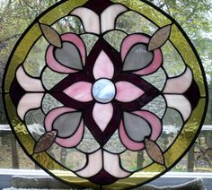 Celtic beautiful stained glass windows Photo | ... Glass Celtic Circle - Window Large Panel - Mosaic/Stained Glass/Glass