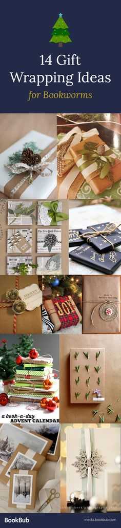Easy and creative gift wrapping ideas for Christmas or even for birthdays or weddings. Featuring brown paper gift wrapping ideas, DIY ideas, and more.