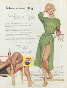 vintage pepsi ads | Pepsi vintage ads from 1950′s Have a Pepsi 1955 – Adbranch