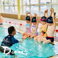 Find out more about Diana's Swim Academy Swimming Classes, Diana, Action, Pictures, Photos, Group Action, Drawings