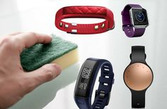 How to clean your #fitnesstracker