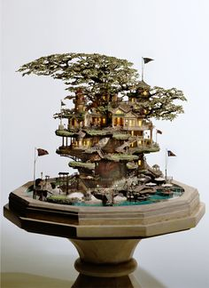 tokyogoodidea02. Peter Pan lost boys tree house!!!!