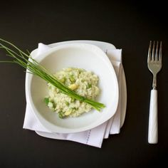 Healthy & quick risotto with peas and avocado (in Slovak)
