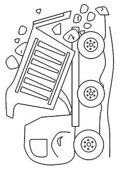 Print Coloring Image Truck PagesBoy Baby ShowersBaby Boy Shower2nd Birthday PartiesBest Kids Party IdeasDump