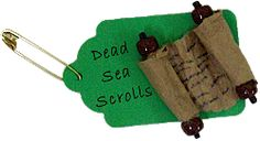Dead Sea Scroll SWAP Pin