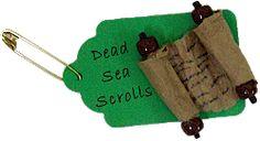 Dead Sea Scroll SWAP Pin