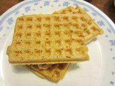 Overnight Almond Oatmeal Waffles {Gluten, Egg, Dairy & Sugar Free}