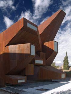 Parish Church of Santa Monica in Rivas-Vaciamadrid, Spain;  designed by Vicens + Ramos Arquitectos;  by Pablo Vincens Hualde