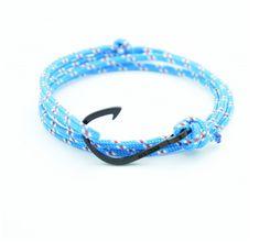 Blue Rope Black Plated Hook http://enzokay.com/