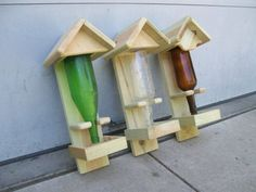 Homemade birdfeeder :) LOVE THIS!!
