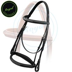 Royal Comfort Fancy Padded Bridle with PP Rubber Grip Reins