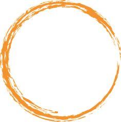 Free Image On Pixabay Orange Round Circle Paint Brush Circle Tattoos Circle Logo Design Frame Logo
