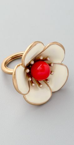 Marc by Marc Jacobs Rosa Rugosa Ring | SHOPBOP
