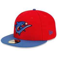 Clearwater Threshers Authentic Road Fitted Cap - Philadelphia MiLB 59fifty  Hats df491cd934b