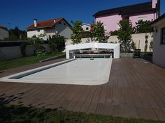 Solid composite decking material easy install, clean and maintenance,composite decking can give the look of premium wood without warping or splintering. Thermal Expansion, Decking Material, Marine Environment, Composite Decking, Easy Install, The Expanse, Terrace, Composition, Spain