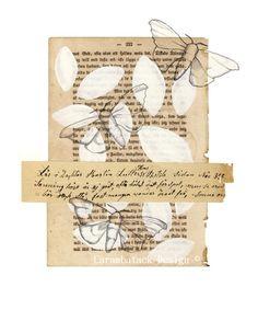 Book Art Illustration  Carambatack Design  Annette Mangseth