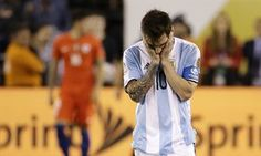 Lionel Messi says he is quitting Argentina team after Copa América final defeat
