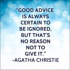 #PCH say.....Are you good at giving advice to others? #PCH #Quote  (Smiles)