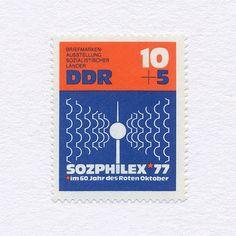 East Germany, 1977. Design: Hans Detlefsen.