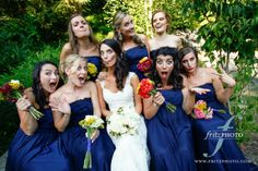 Wedding Party Picture Ideas | The SnapKnot Blog | Fritz Photography