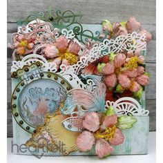 Heartfelt Creations - Under The Sea Curved Foldout Card Project