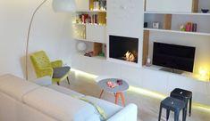 meuble tv sur mesure avec portes coulissantes meuble tv inspiration en 2018 pinterest. Black Bedroom Furniture Sets. Home Design Ideas