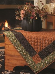 perfect fall table topper