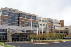 Spotsylvania Regional Medical Center located 1 hour north of Richmond, VA is a beautiful example of designers utilizing various products and finishes.  This project used Belden brick and featured Arriscraft's 3 unit random ashlar stone in a custom walnut color with smooth Olive Renaissance used as accent bands running through the brick and rocked stone areas. The designer carried the Legacy stone into the interior thus creating a warm inviting reception area.  www.arriscraft.com for more…