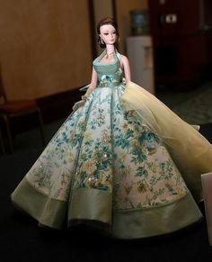 Barbie Silk Stone in beautiful gown