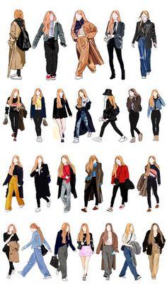 Kpop Fashion Outfits, Blackpink Fashion, Anime Outfits, Mode Outfits, 2000s Fashion, Fashion History, Modest Fashion, Fashion Terms, Muslim Fashion