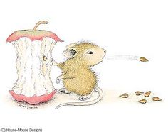 """Mudpie from House-Mouse Designs®  featured on the The Daily Squeek® for January 7th, 2014. Click on the image to see it on a bunch of really """"Mice"""" products."""