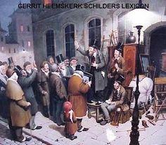 Heemskerk Lexicon Hollandse Schilderkunst met o.a. Alle Schilders van Stadsgezichten  Een stadsgezicht is het uitzicht op een stad of in een stad.. Daarbij is het een afbeelding waarin huizen of gebouwen centraal staan.De term 'stadsgezicht' als aanduiding van een genre in de schilderkunst ontstond pas rond 1800. Belangrijke schilders van stadsgezichten : Behr C.J.--Bommel van E.P.--Breitner G.H.--Dommershuizen C.C.--Eversen A-- Hilverdink E.A .--Hove van B.J.--Hulk J.F.--Karsen…