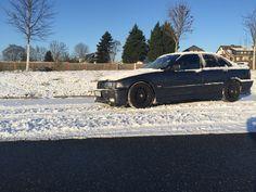 Sedan in snow