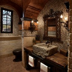 would love this bathroom if i lived in a castle.