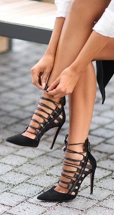 11 Amazing Pencil High heels For Ladies To Drop Madly Inside Love Along with -  #amazing #heels #ladies #madly #pencil