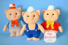 os-tres-porquinhos-centro-de-mesa-tres-porquinhos
