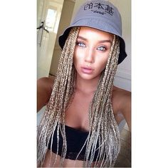 blondes with braids - Google Search
