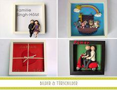 Personalisierte Bilder und Türschilder als Geschenk 3d, Frame, Home Decor, Personalized Gifts, Picture Frame, Decoration Home, Room Decor, Frames, Home Interior Design