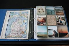 Tip from Simple Scrapper: Document annual vacations to one location with a photo + memorabilia album.