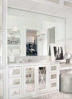 custom bathroom vanity design // Bradshaw Orrell