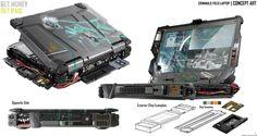 26-3-15_Field Laptop by BlakeZ.deviantart.com on @DeviantArt
